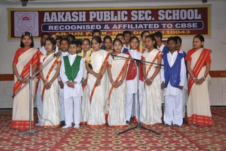 Aakash Public School-Singing