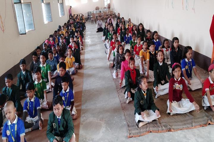 Sunworld Public School-Yoga Activity