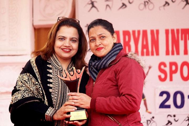 Aaryan International School-Awards