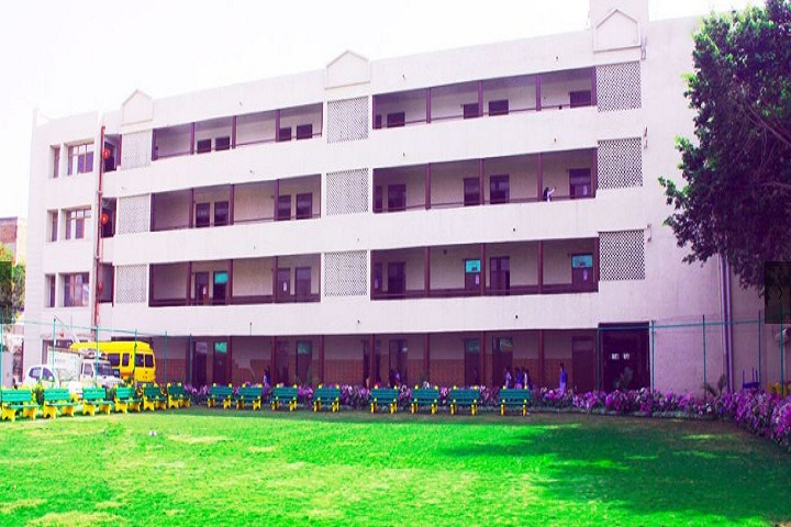Aaryan International School-Campus view