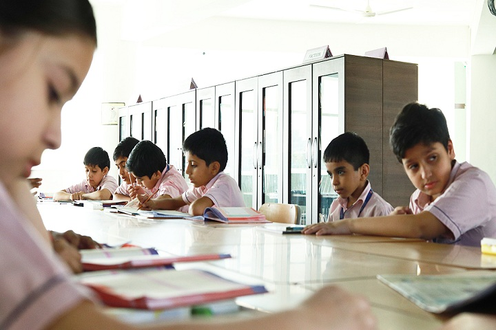 Abhinav Global School-Library