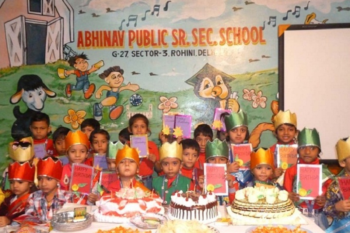 Abhinav Public School-Celebration