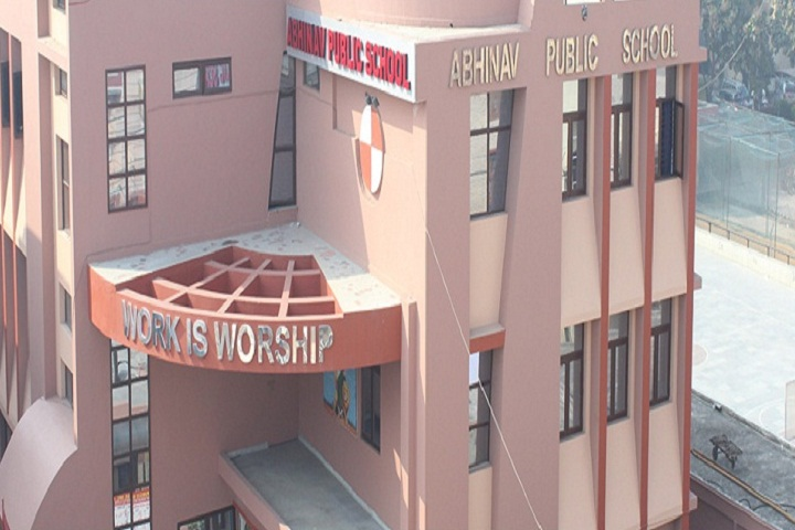 Abhinav Public School-School Building