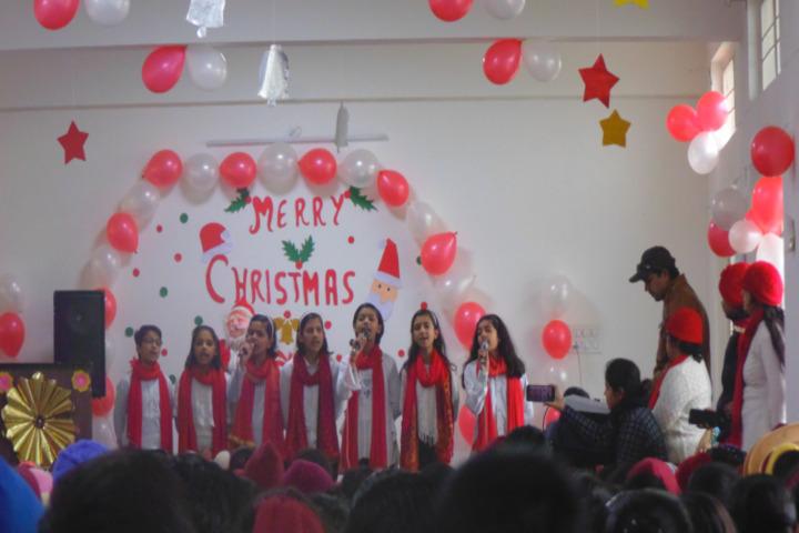 DAV Police Public School-Christmas Celebrations