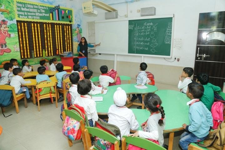 Abhinav Public School-Classroom