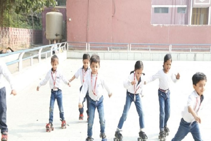 Abhinav Public School-Skating