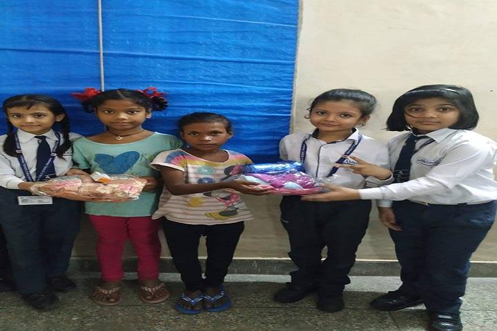 Abhinav Public School-Social Service