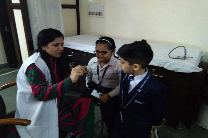 Abhinav Public School-Medical-Room