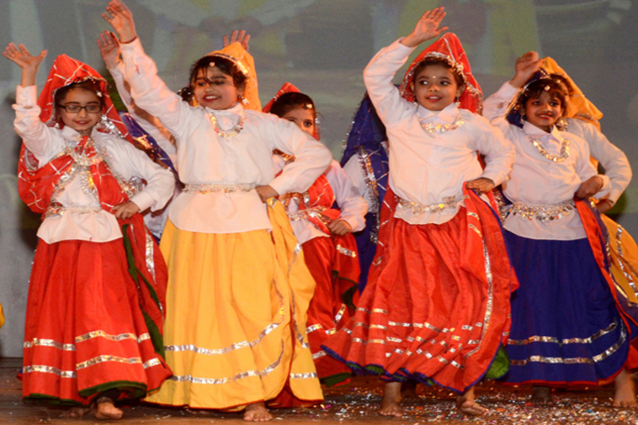 Abhinav Public School-Dance