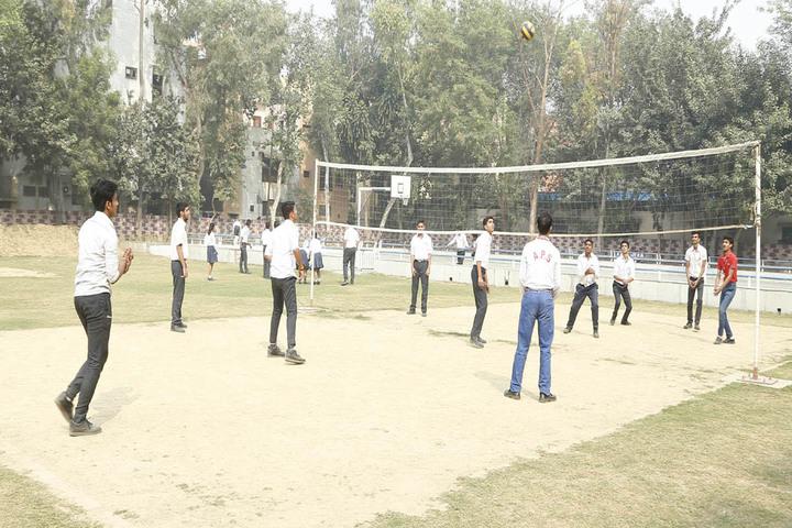 Abhinav Public School-VolleyBall Court