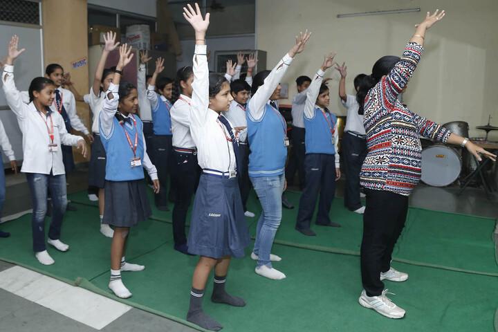 Abhinav Public School-Dance Class
