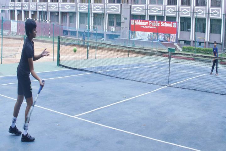 Abhinav Public School-Tennis Court