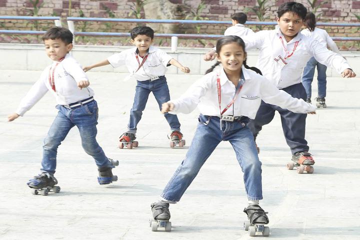 Abhinav Public School-Skating Rink