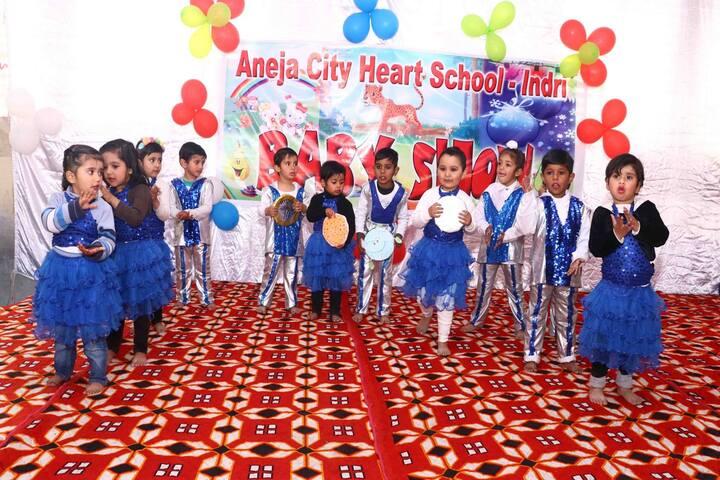 Aneja City Heart School-Baby Show