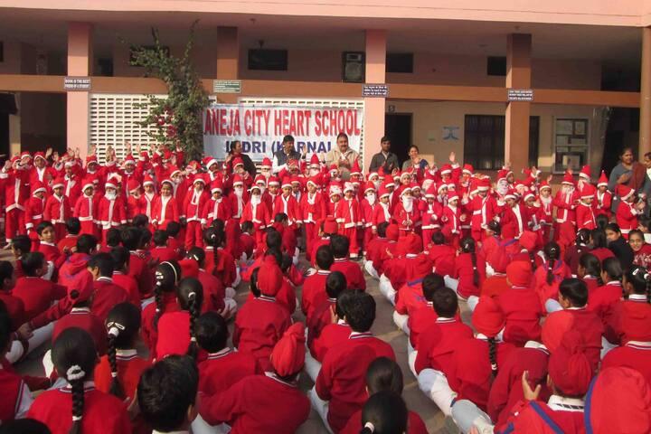 Aneja City Heart School-Christmas Celebrations