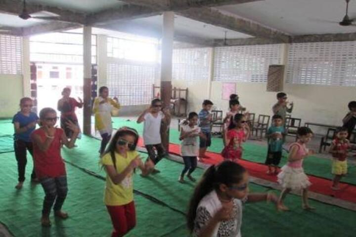 Aneja City Heart School-Dance Activity
