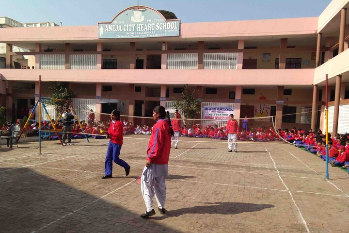 Aneja City Heart School-Sports