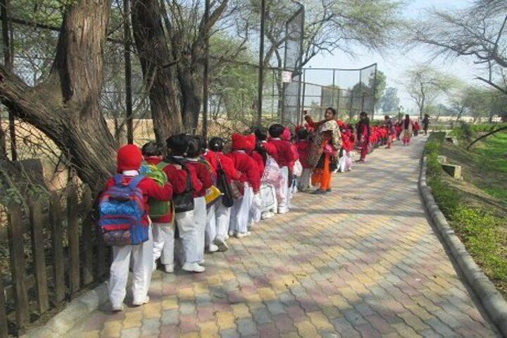 Aneja City Heart School-Zoo Visit