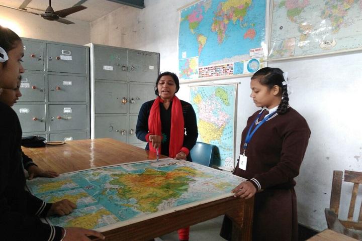 Adarsh Gyan Sarover Balika Vidyalaya-Social lab Image 1