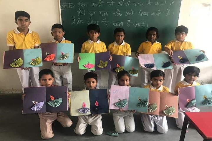 Divine Convent School-Art And Craft