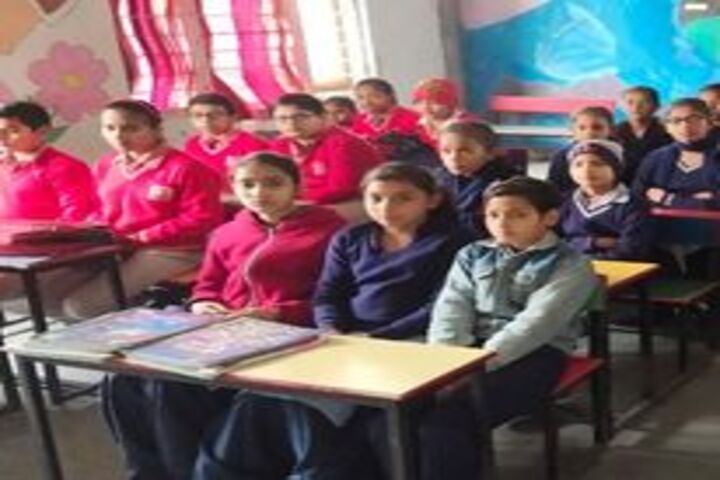 Divine Convent School-Classrooms