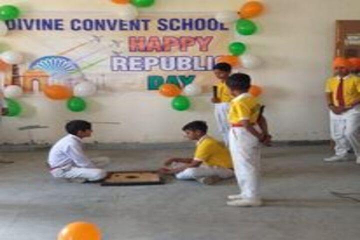 Divine Convent School-Indoor Games