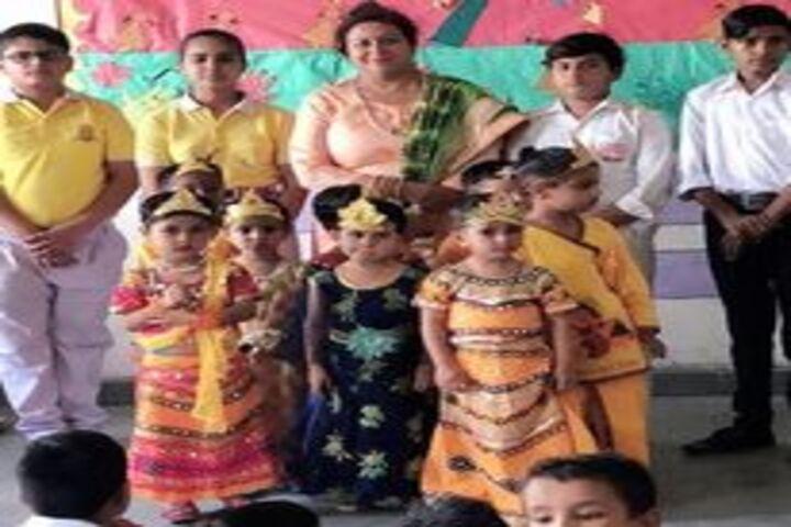 Divine Convent School-Janmastami Celebrations