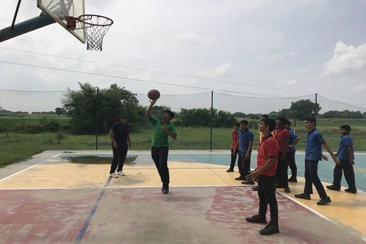 Emerald International School-Basket Ball Court