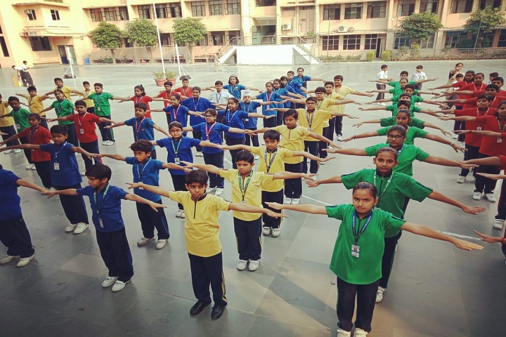 Adarsh Public School-Drill Activity