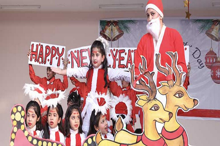 Adarsh Public School-Christmas Celebration
