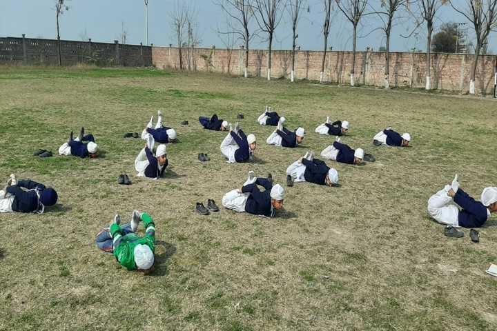 Akal Academy-Yoga Activity