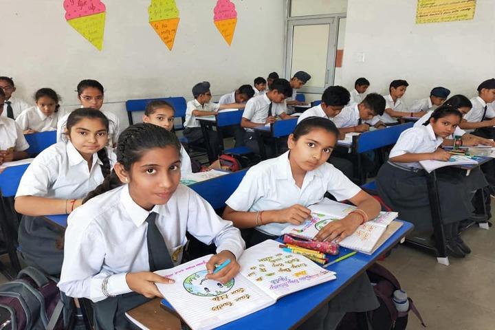Siwan Public School-Classrooms