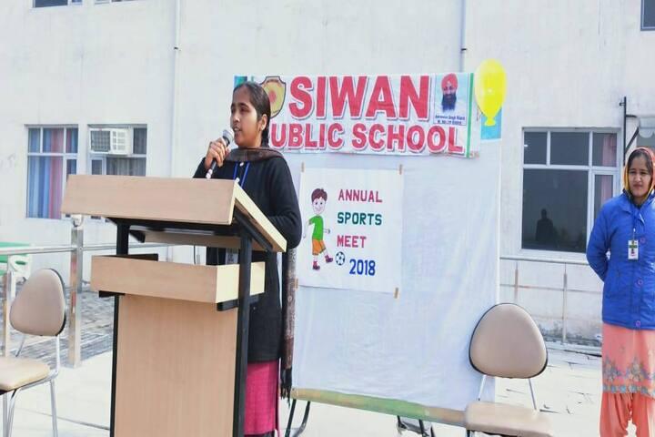 Siwan Public School-Sports Meet