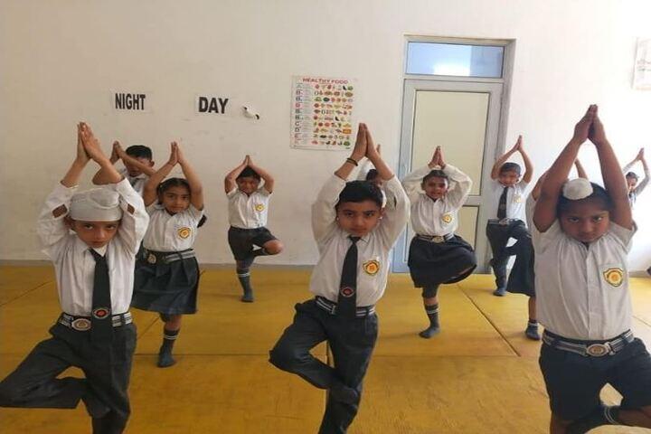Siwan Public School-Yoga Activity