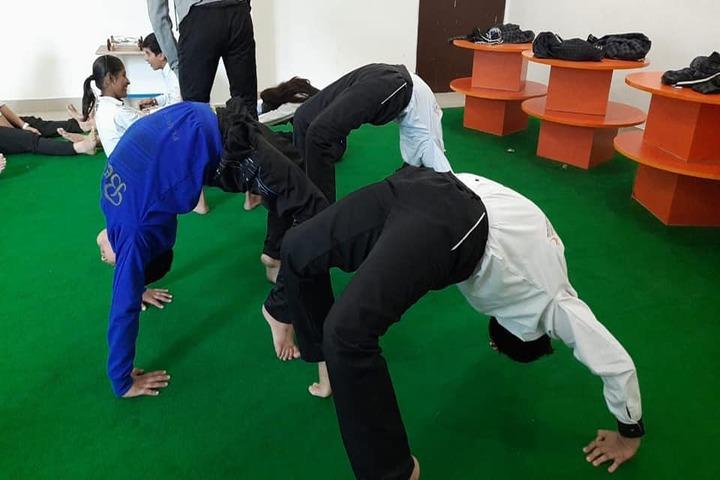 Birla Children Academy-Yoga Activity