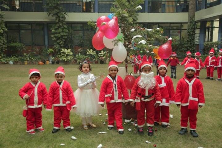 Adarsh Vidya Bhawan-Christmas celebrations