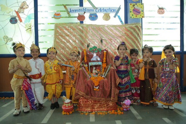 Adarsh Vidya Bhawan-Janmashtmi Celebrations