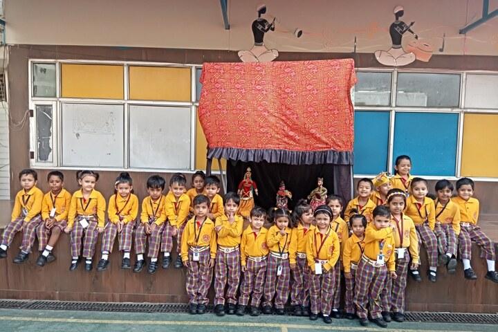 Adarsh Vidya Bhawan-Puppet Show