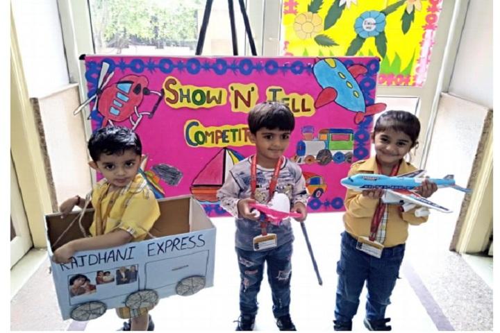 Adarsh World School-Preschool Activity