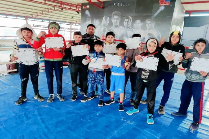 Doon Public School-Boxing Competition