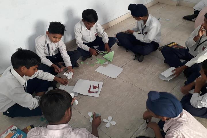 Dharam Public School-Art And Craft