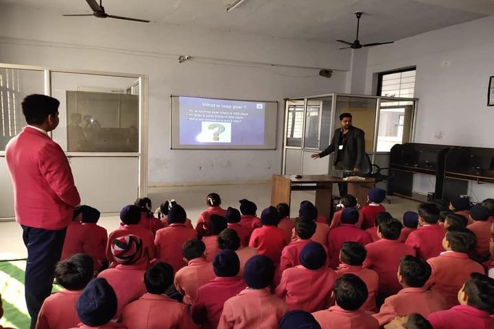 Dharam Public School-Smart Classrooms
