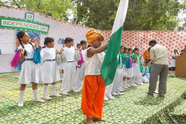 Air Force Gyan Jyoti School-Independence Day Celebrations