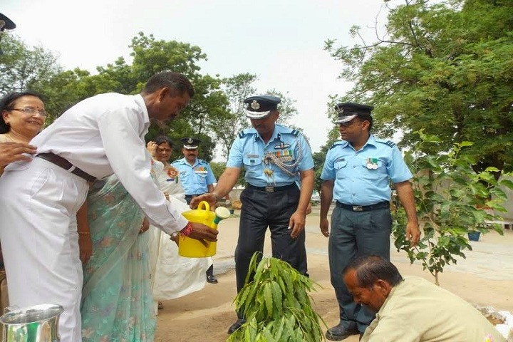 Air Force Gyan Jyoti School-Plant a Tree