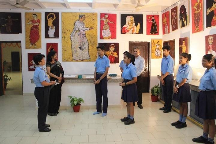 Air Force Bal Bharati School-Art Exhibition