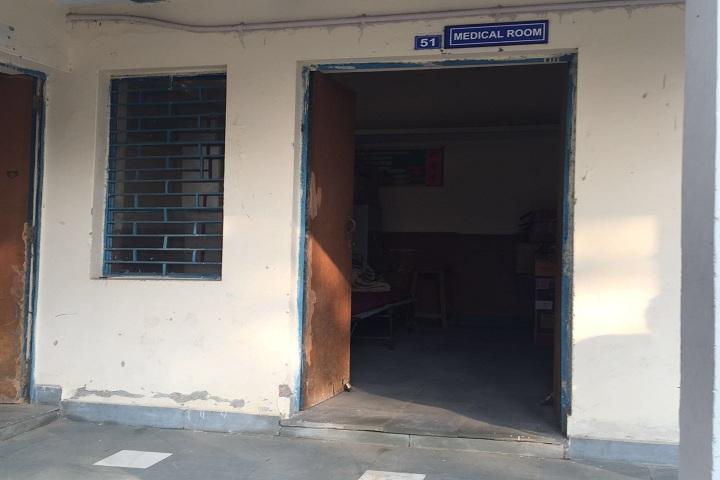 Air Force Sr Sec School-Medical room