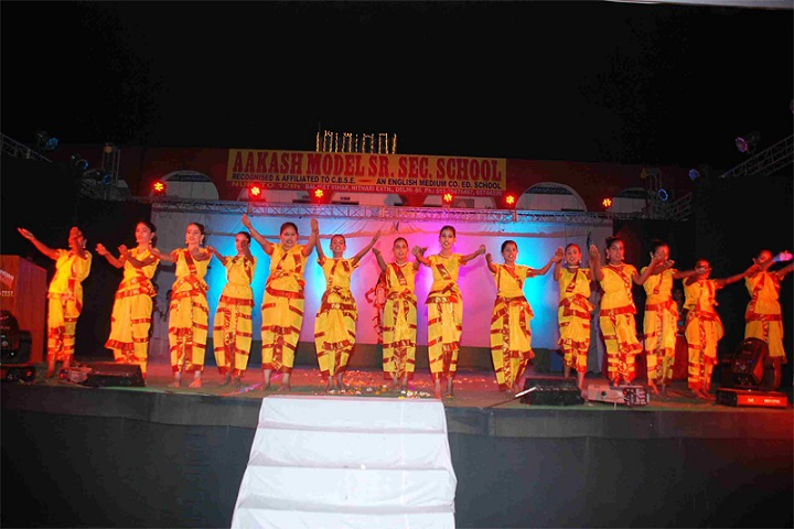 Akash Model School-Classical Dance Performance