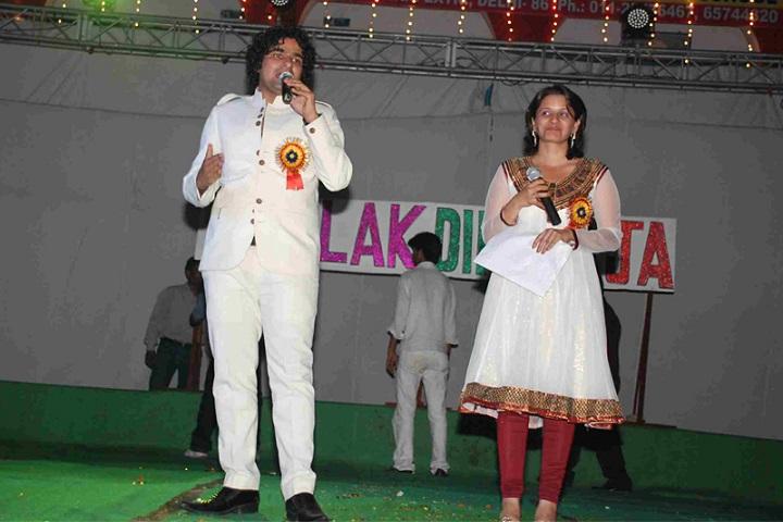 Akash Model School-Singing Performance