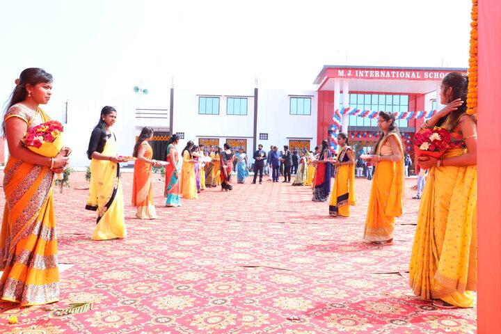 MJ International School-Cultural Day