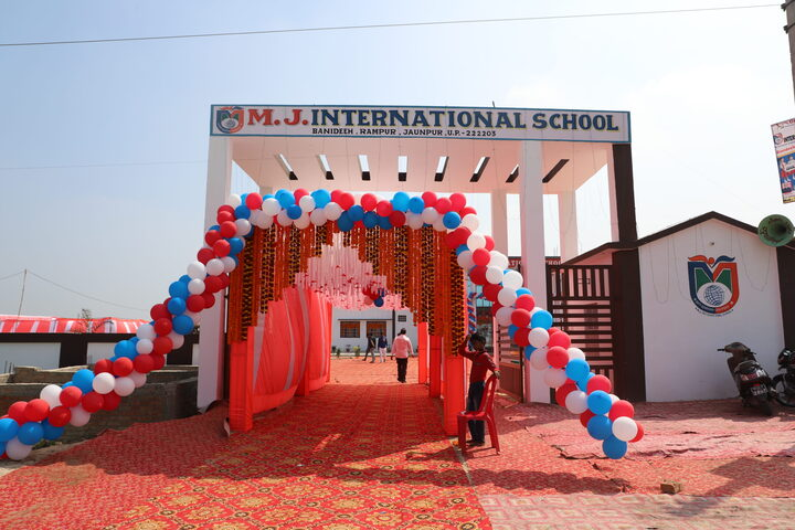 MJ International School-School Entrance